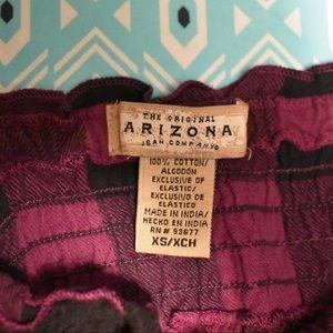 Arizona Purple Plaid Dress